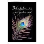 Español: Graduación Graduacion/2013 Tarjeta De Felicitación