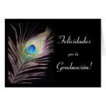 Español: Graduacion/graduación Tarjeta De Felicitación