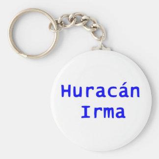 Espanol Huracan Irma Keychain