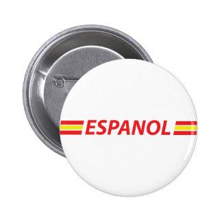 espanol icon pinback button