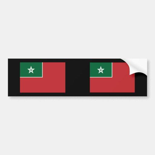 Español Marruecos, Marruecos Etiqueta De Parachoque