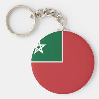 Español Marruecos, Marruecos Llavero Redondo Tipo Pin