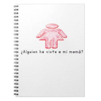 Español-Momma Libros De Apuntes Con Espiral