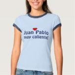 Español muy del caliente de JUAN PABLO Playera