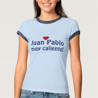 Español muy del caliente de JUAN PABLO Poleras