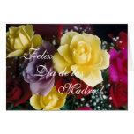 Español: Rosas Dia de la Madre del día de madre Tarjeta De Felicitación
