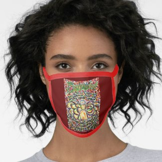 Español Serenity Prayer Angel Custom Face Mask