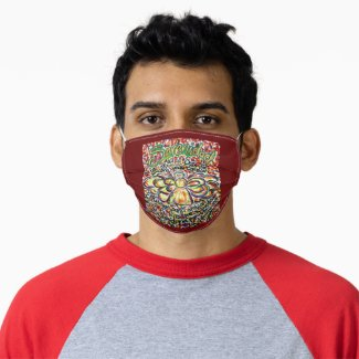 Español Serenity Prayer Poem Custom Face Mask