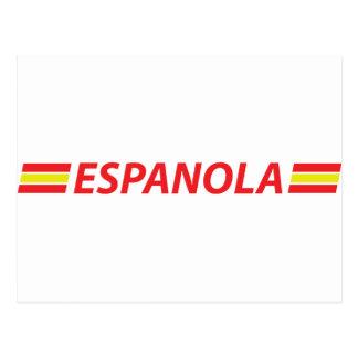 espanola icon postcard