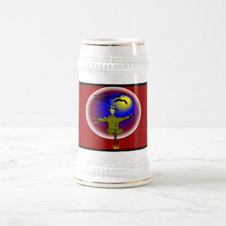 Espantapájaros anónimo - jarra de cerveza