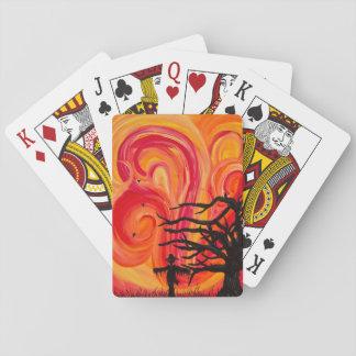 Espantapájaros Cartas De Póquer