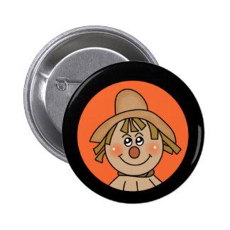 Espantapájaros de Halloween Pin
