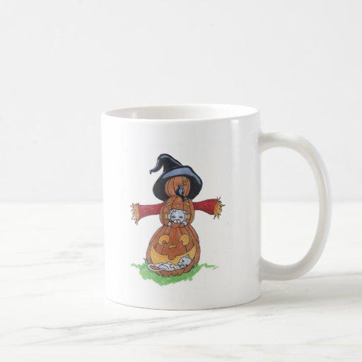 Espantapájaros de Jack Tazas De Café