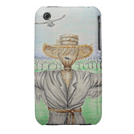 espantapájaros iPhone 3 protector