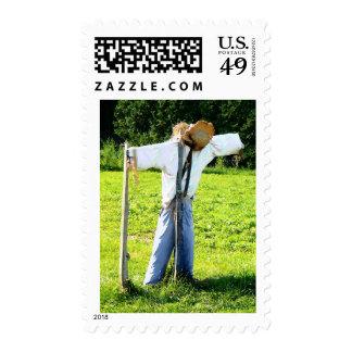 Espantapájaros Timbres Postales