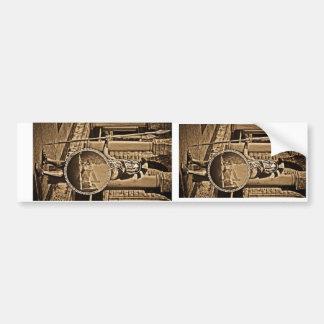 espartano antiguo pegatina para auto