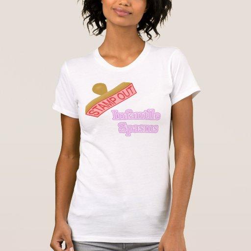 Espasmos infantiles camiseta
