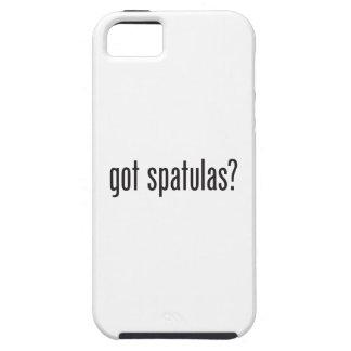 espátulas conseguidas iPhone 5 carcasas