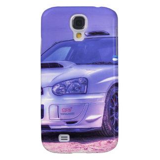 Espec. C del STi de Subaru Impreza WRX en blanco Carcasa Para Galaxy S4