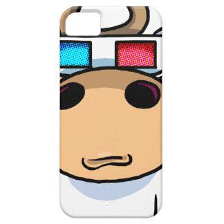 espec. de la vaca 3D iPhone 5 Protectores