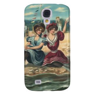 Espec. de los bebés 3G de la playa del bañista de Samsung Galaxy S4 Cover