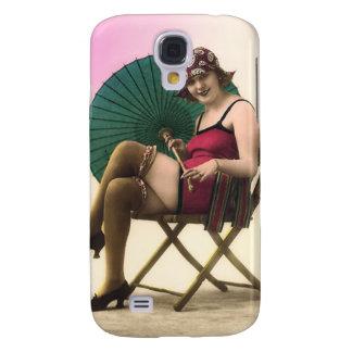Espec. del bebé 3G de la playa del bañista de Sun Funda Para Galaxy S4
