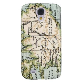 Espec. del mapa 3G de Islandia del vintage Samsung Galaxy S4 Cover