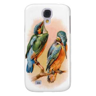 Espec. del pájaro 3G del vintage Carcasa Para Galaxy S4