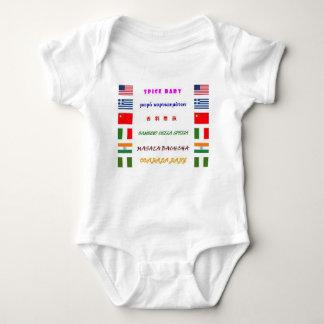 especia body para bebé