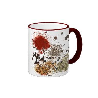 Especia de la taza de cerámica de la vida