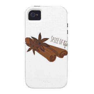 Especia de la vida Case-Mate iPhone 4 carcasa