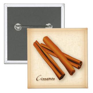 Especia de los palillos de canela pin cuadrado