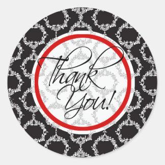 Especia - gracias personalizado Paprika Etiquetas Redondas