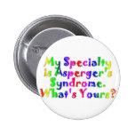 Especialidad de Asperger Pin