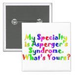 Especialidad de Asperger Pins