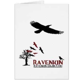 Especialidad de Ravenkin Tarjeta De Felicitación
