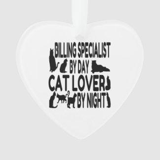 Especialista de la facturación del amante del gato