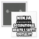 Especialista de la seguridad y salud laboral de Ni Pins