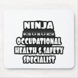 Especialista de la seguridad y salud laboral de Ni Tapete De Raton