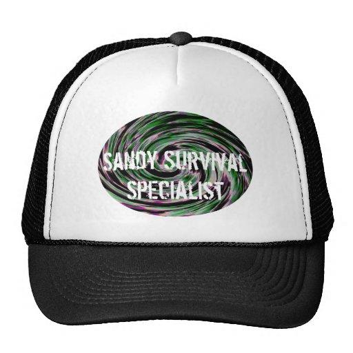 Especialista de la supervivencia de Sandy Gorro