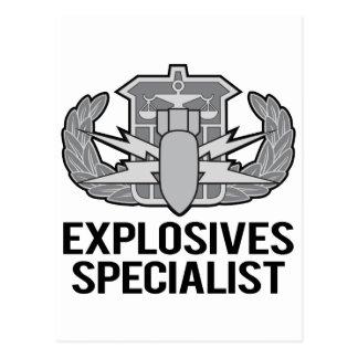 Especialista de los explosivos de HDS
