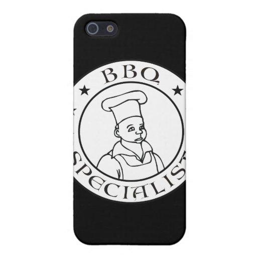 Especialista del Bbq iPhone 5 Cárcasas