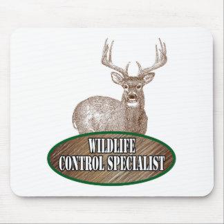 Especialista del control de la fauna mouse pad