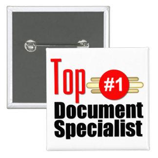 Especialista superior del documento pins
