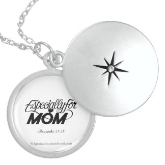 Especially for Mom Mother's Day Round Locket Necklace