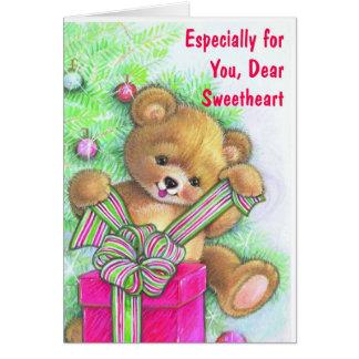 Especially For You, Dear Sweetheart Card