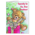Especialmente para usted, estimado amor tarjeta de felicitación