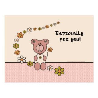 ¡Especialmente para usted! Tarjeta Postal