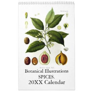 Especias 2015 calendario