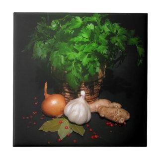 Especias Teja Ceramica